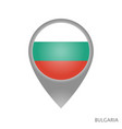 bulgaria point vector image vector image