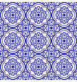 ceramic tile pattern background vector image vector image