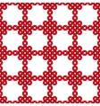 Chinese knot seamless pattern vector image