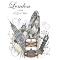 London landmarks vector image vector image