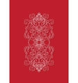 Oriental floral background design Sry Lanka vector image vector image
