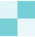 pattern dot waves vector image vector image