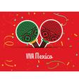 viva mexico design vector image vector image