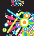 80s music vector image