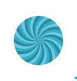 abstract circle flat icon vector image