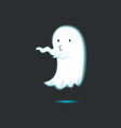 Cute Ghost Single 8 vector image vector image