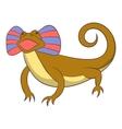 Desert lizard icon cartoon style vector image