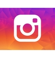 new instagram logo 2016 camera icon symbolic vector image