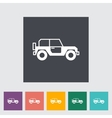 Offroad car vector image vector image