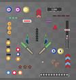 pinball board game vector image