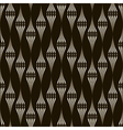 seamless pattern monochrome ornament with stylized vector image vector image