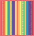 strip rainbow seamless pattern vector image vector image