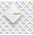 abstract seamless geometric square pattern vector image vector image