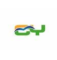 CY logo vector image
