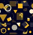 geometric seamless print polka dots design vector image