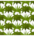 green plants seamless pattern design vector image