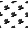 mussels icon in black style isolated on white vector image vector image