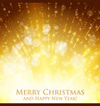 shining christmas colorful vector image vector image