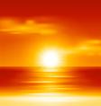 Summer holidays beach background vector image