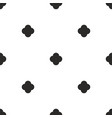 tile black and white background vector image vector image