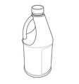 Chemical Bottle vector image