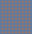 diagonal squareorange and blue seamless fabric vector image vector image