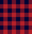 Lumberjack Plaid Seamless Pattern vector image