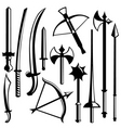sword set vector image
