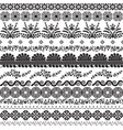 decor with slavic patterns vector image vector image