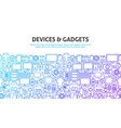 device gadgets concept vector image