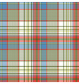 Plaid fabric texture square pixels shirt seamless vector image
