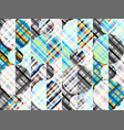 seamless background geometric abstract diagonal vector image vector image