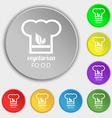 Vegan food graphic design icon sign Symbol on vector image
