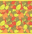 leaves pattern vector image