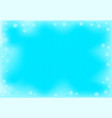 abstract background snowfall effect frame for a vector image vector image