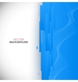 Blue 3D Background vector image vector image