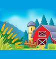 farm theme image 9 vector image