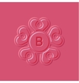 Hearts pink surround style the vector image vector image