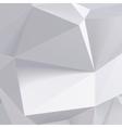 Low polygon geometry shape vector image vector image