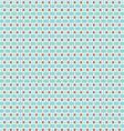 mod geometric snowflake pattern vector image vector image