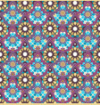 seamless bright multi-colored geometric pattern vector image