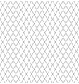 seamless linean pattern black and white color vector image vector image