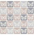 Seamless pattern with butterflies Eps 8 vector image vector image