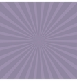 Violet sunburst with ray of light Template vector image vector image