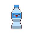water plastic bottle cartoon kawaii character vector image vector image