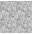 Wave sketch seamless pattern vector | Price: 1 Credit (USD $1)