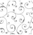 Abstract silver seamless vintage pattern vector image vector image