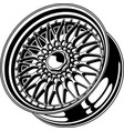 car wheel 11 vector image