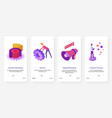 digital marketing creative process tech service vector image