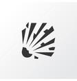 explosive icon symbol premium quality isolated vector image